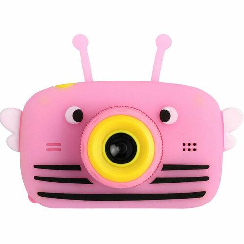 Фотоаппарат пчёлка розовый