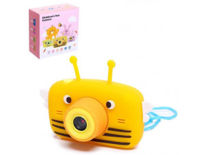 Фотоаппарат пчёлка оранжевый изображение 0