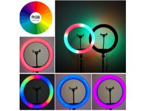 Кольцевая Led Лампа RGB 26 см. изображение 2