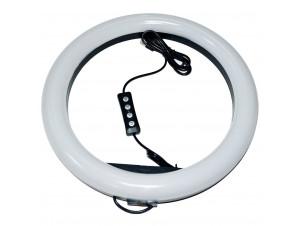 Кольцевая Led Лампа 33 см со штативом изображение 0