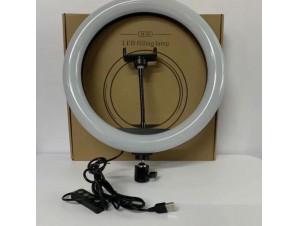 Кольцевая Led Лампа 33 см со штативом изображение 3