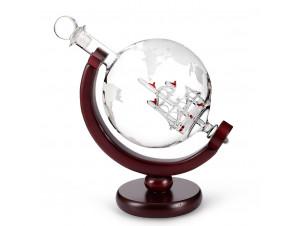 Декантер Глобус с бокалами изображение 0
