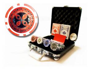 Покерный набор на 100 фишек  Ultimate