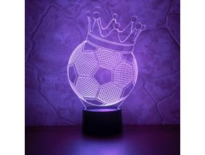 Ночник Футбольный мяч изображение 1