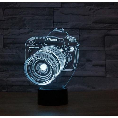 3D светильник фотоаппарат
