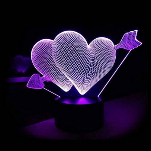 3D светильник Love