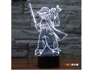 Ночник Йода с мечом
