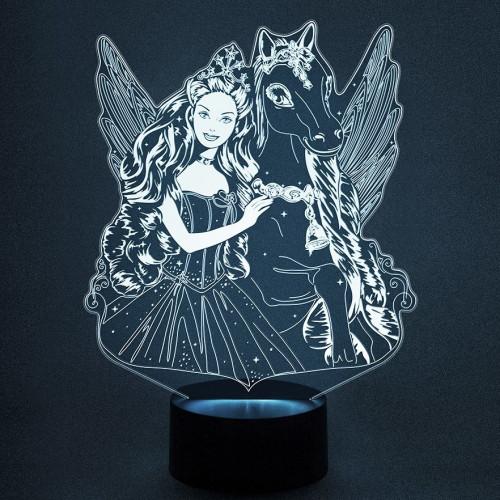 3D светильник барби