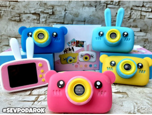 Детский фотоаппарат зайка