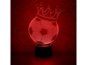 Ночник Футбольный мяч изображение 0