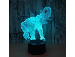 Ночник Слон изображение 0