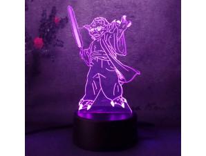 Ночник Йода с мечом изображение 0