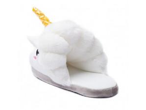 Тапочки Единорог белый изображение 1