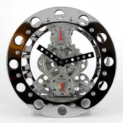 Часы техно-диск
