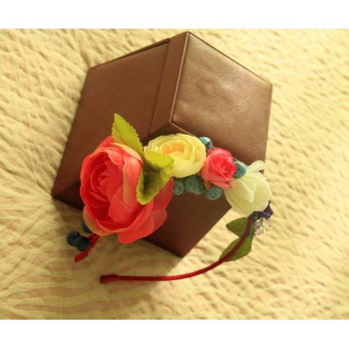Ободок Страстная Роза