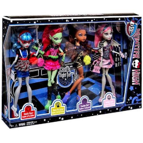 Сет 4 куклы Ночь Монстров