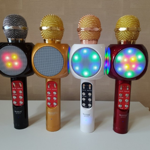 Микрофоны Караоке Светомузыка