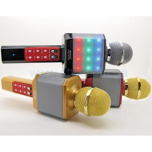 Караоке Микрофон WS-1828. Цветомузыка.